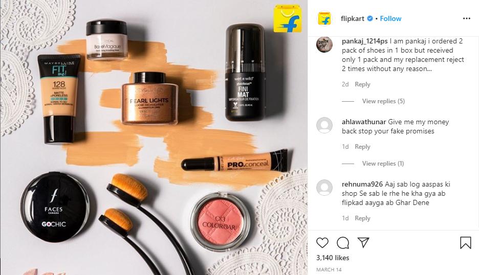flipkart - Social Media Marketing Strategy
