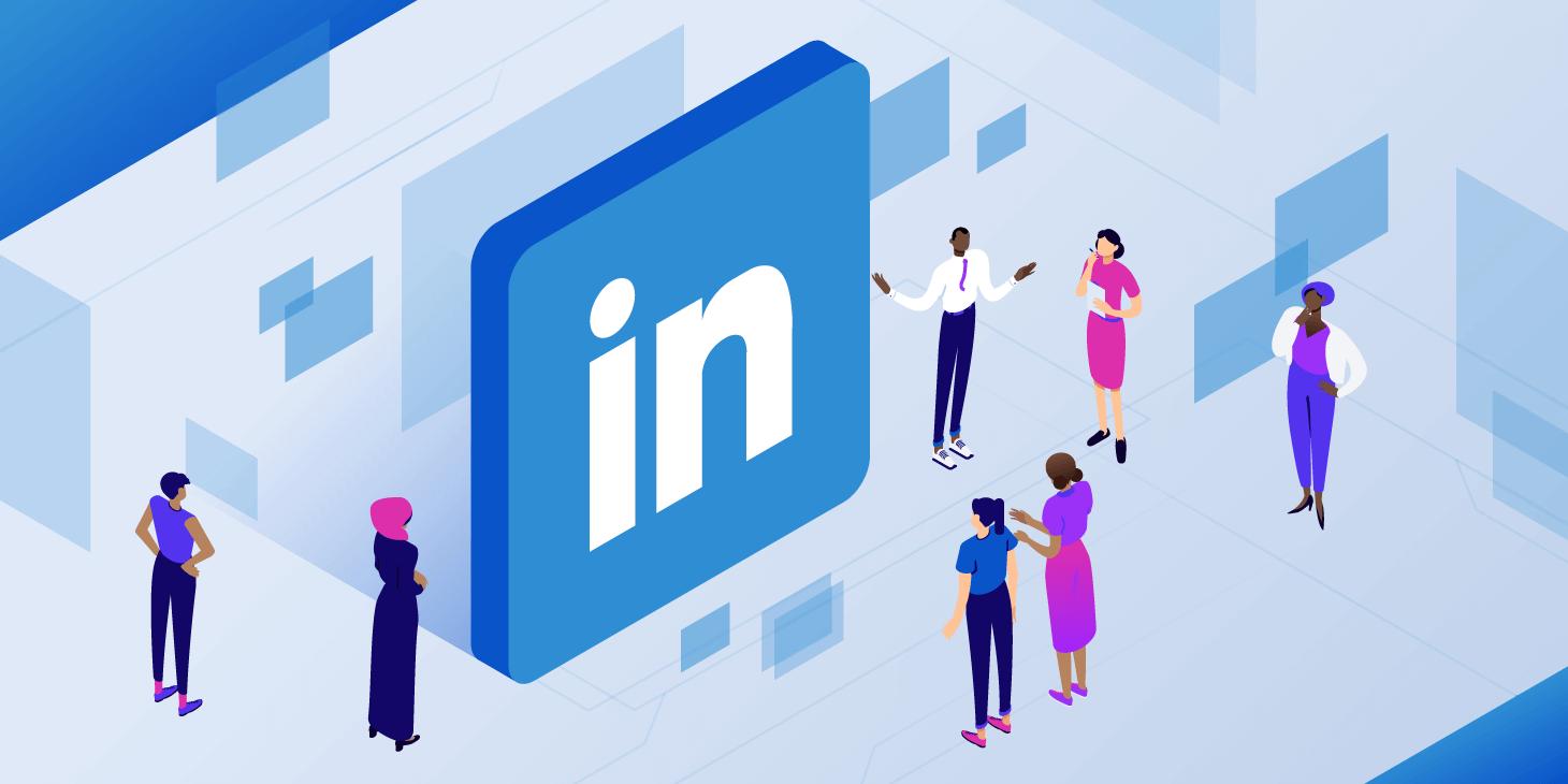 LinkedIn - social media marketing services