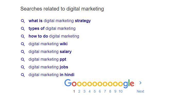 google autocomplete search