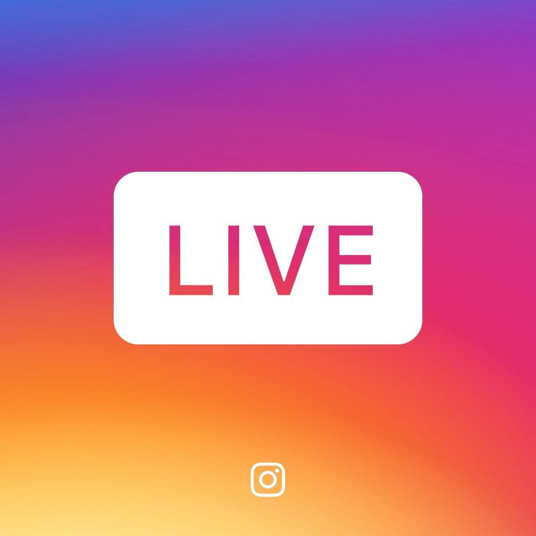 instagram live - promote your business for free